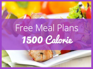 A 1500 Calorie Meal Plan for Weight Loss