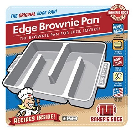Brownie Edge Pan for Extra Chewy Brownies