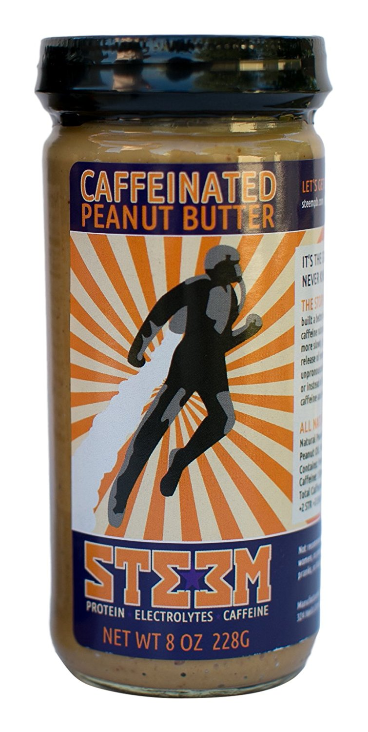 Start Your Day with Delicious Caffeinated Peanut Butter
