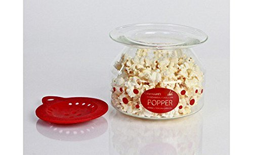 Glass Microwave Popcorn Popper for the Healthiest Popcorn