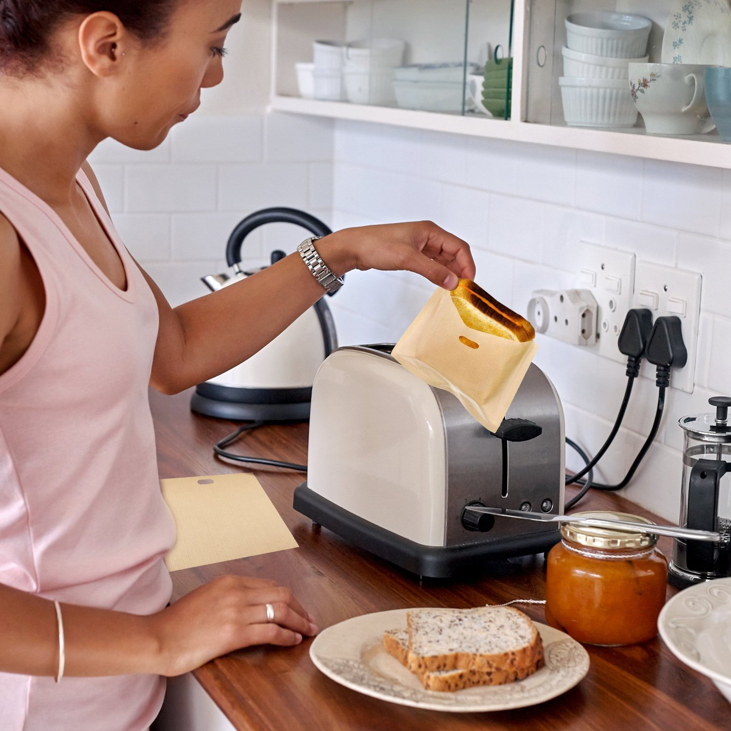 Toaster Bags for Gluten Free Toast and Sandwiches