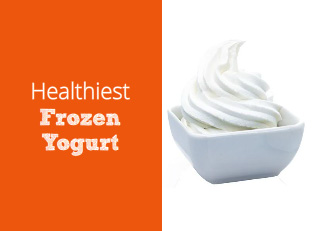 The Healthiest Frozen Yogurt, from Plain Vanilla to Caramel Praline Crunch