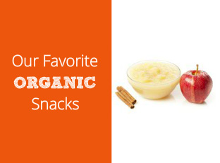 Our Favorite Organic Snacks: Healthy Treats For On the Go and Between Meals