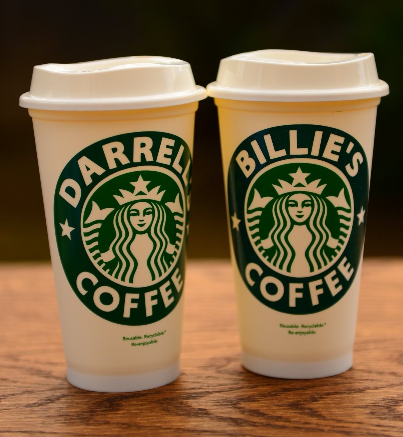 Reusable And Personalized Starbucks Cup For Stylish Eco