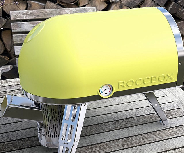 Portable Stone Bake Pizza Oven - The Roccbox