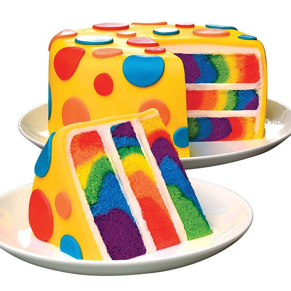 Rainbow Cake Mix For Colorful Cakes
