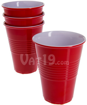 Eco Friendly Reusable Red Solo Cups