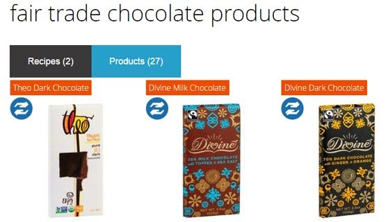 fair trade food products