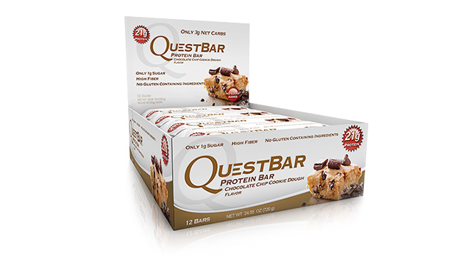 All About Quest Bars Chocolate Chip Cookie Dough Vitamin Shoppe