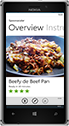 spoonacular Windows Phone App