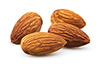 0.5 cups almonds