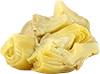 2  marinated artichoke hearts