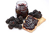 0.25 cups blackberry jam