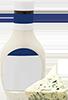 0.5 cups light bleu cheese dressing
