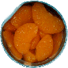 2 cans canned mandarin oranges