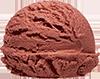 some chocolate ice cream