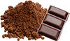 0.33 cups dark cocoa powder
