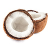 0.5 cups coconut