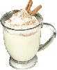 0.25 cups eggnog