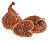 5 medium dried figs