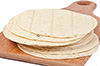 4  whole wheat burrito size tortillas