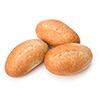 4  crusty rolls