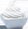 2 cups frozen vanilla yogurt