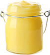 some lemon curd