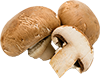 10 large white mushrooms