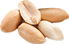 1 pound raw skinless raw peanuts