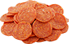 some pepperoni