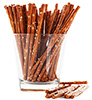 1.25 cups salted pretzel sticks