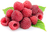 1 cup frozen raspberries