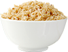 0.75 cups cooked brown rice