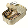 1 can canned sardines