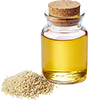 3 drops sesame oil