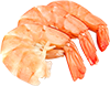 6 jumbo raw shrimp