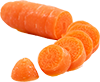3 medium diced carrots