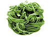 2 large spinach fettuccine