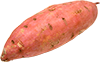 1 large cooked sweet potato
