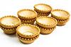 6  tart shells