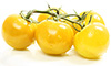 4  red diced yellow cherry tomatoes