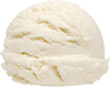 5 scoops vanilla ice cream