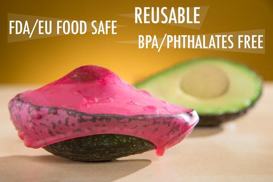 BPA free and phthalate free reusable food wrap