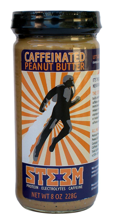Peanut butter with a caffeine boost!