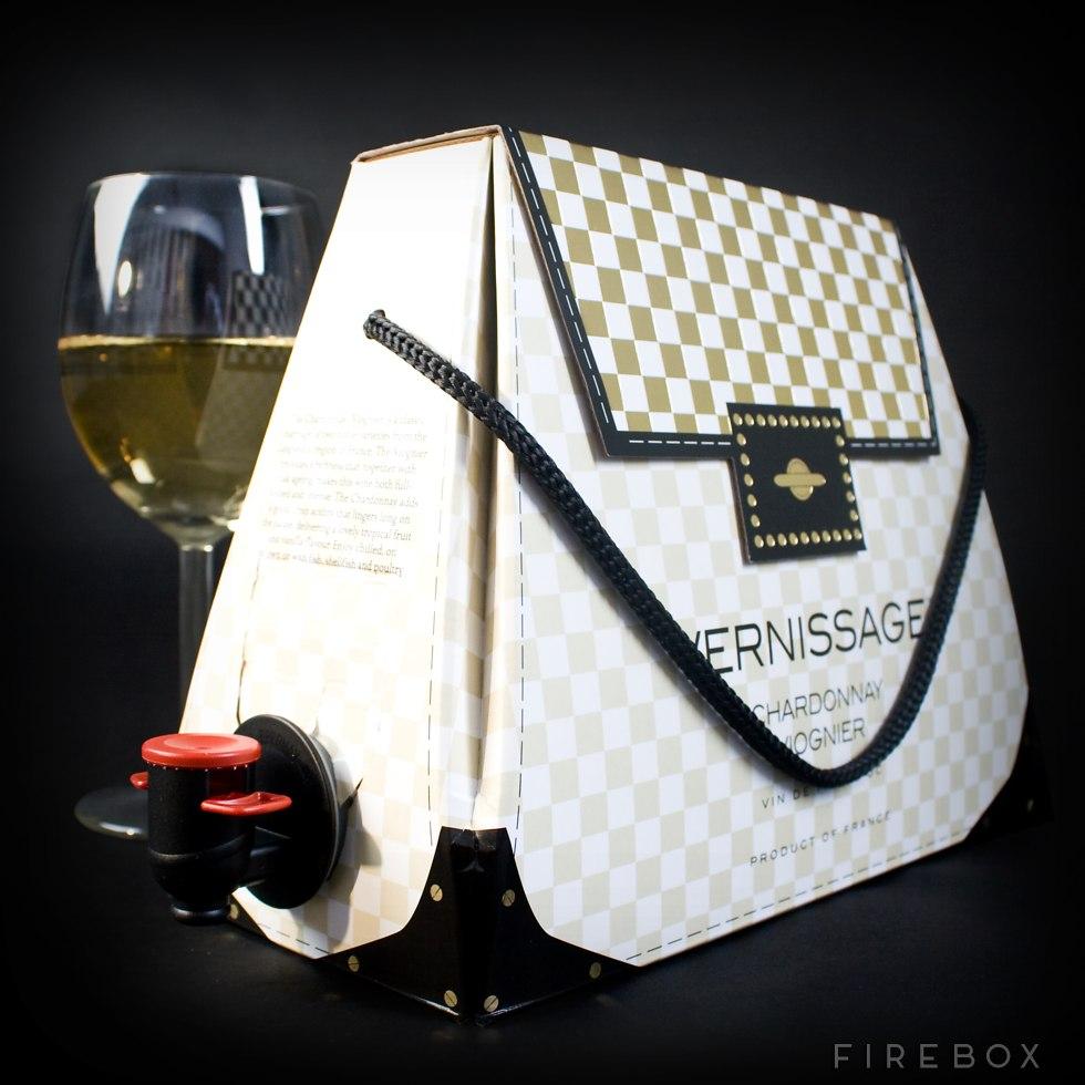 The chardonnay purse