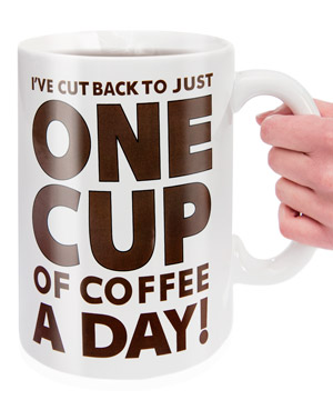 The giant coffee mug of your dreams
