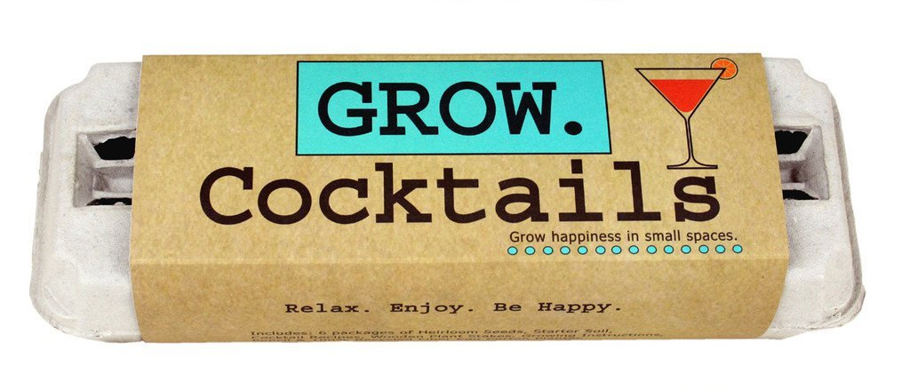 Grow happiness (and maybe tipsiness) in small spaces
