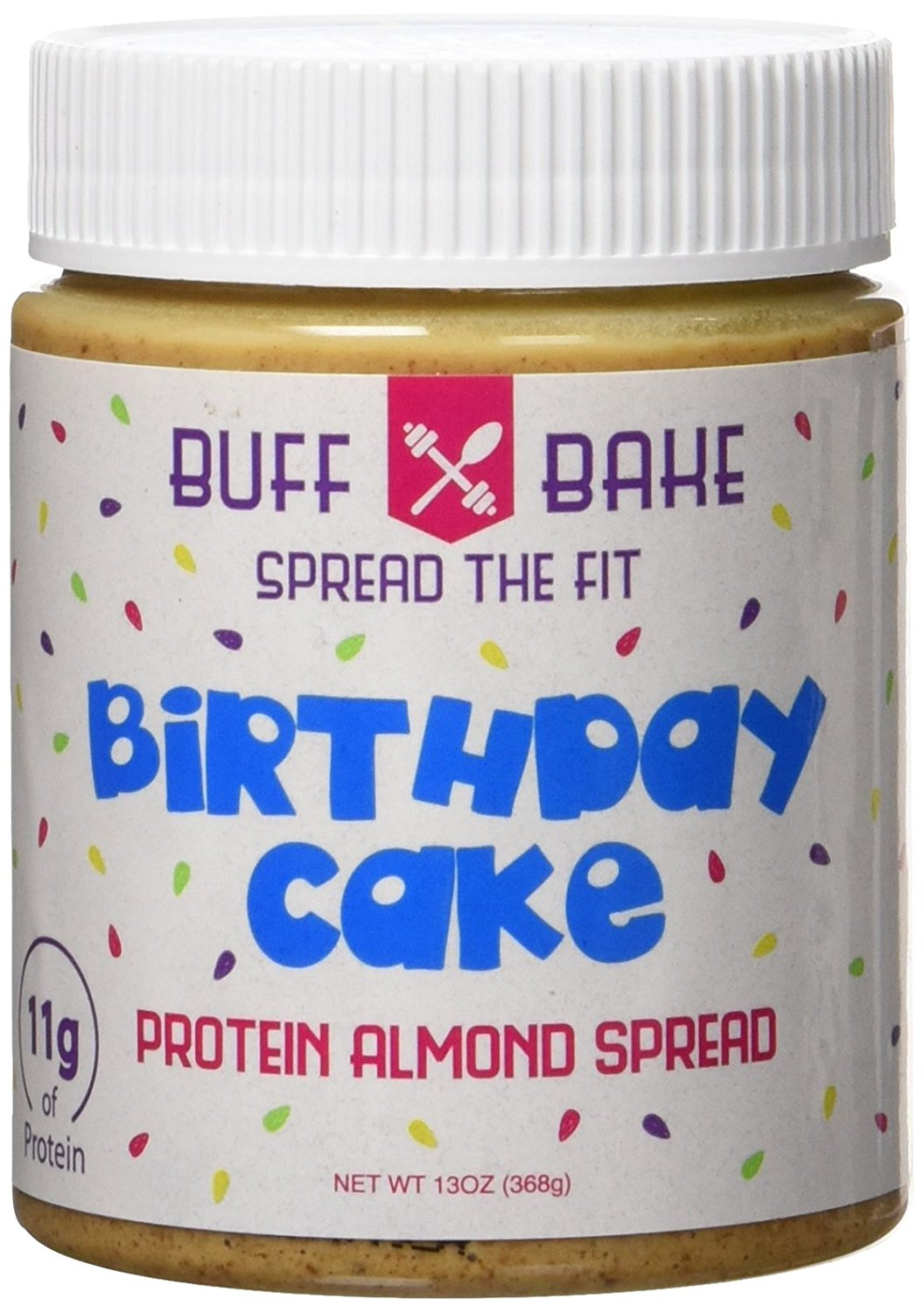 Birthday Cake High Protein Almond Butter