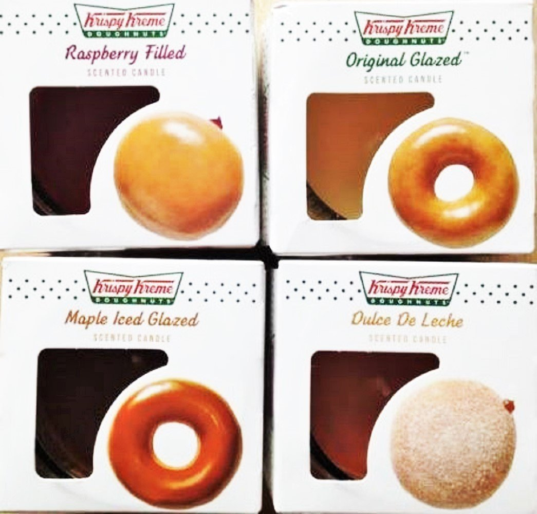 Save Calories with a Krispy Kreme Candle